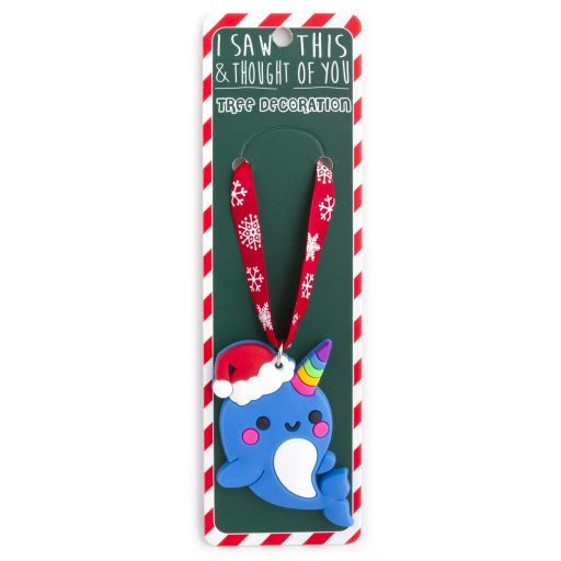 ISXM0073- Tree Decoration - Narwhal