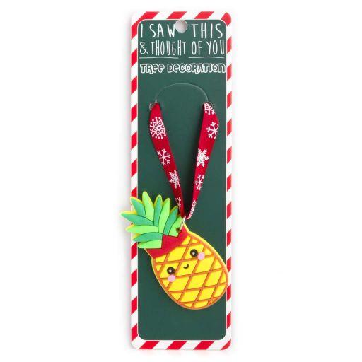 ISXM0079- Tree Decoration - Pineapple