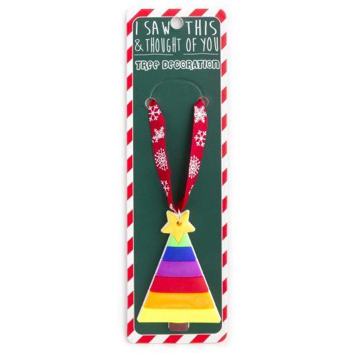 ISXM0090- Tree Decoration - Rainbow tree