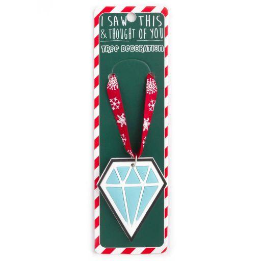 ISXM0100- Tree Decoration - Diamond