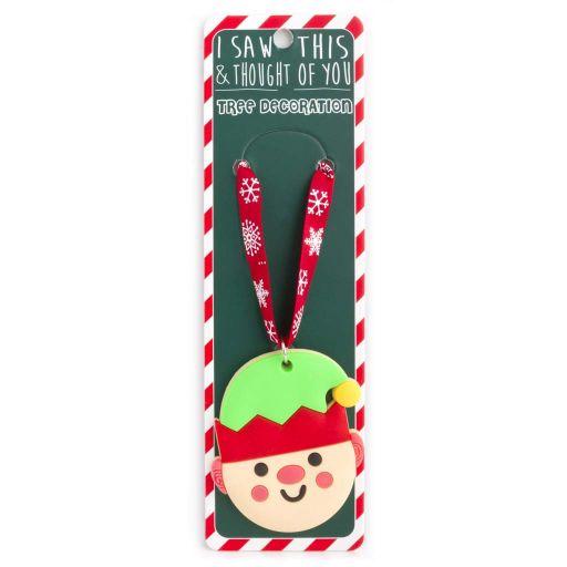 ISXM0101- Tree Decoration - Elf