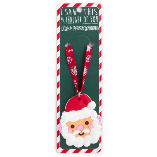 ISXM0102- Tree Decoration - Santa