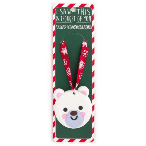 ISXM0103- Tree Decoration - Polar Bear