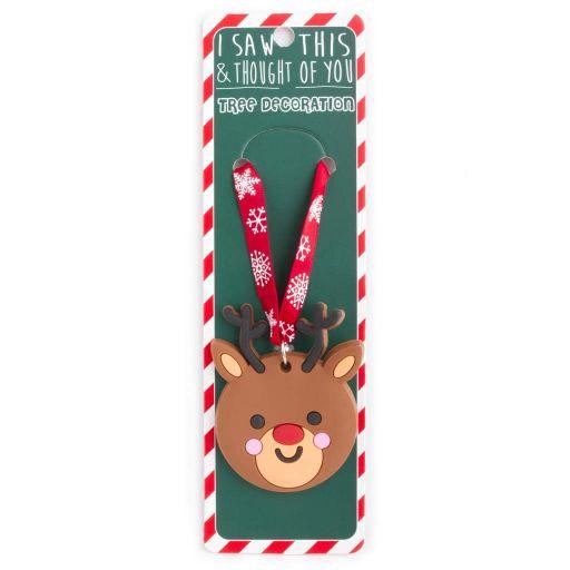 ISXM0104- Tree Decoration - Rudolph