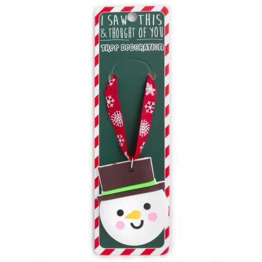 ISXM0105- Tree Decoration - Snowman