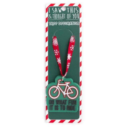 ISXM0111 Tree Decoration - Oh What Fun It is To Ride