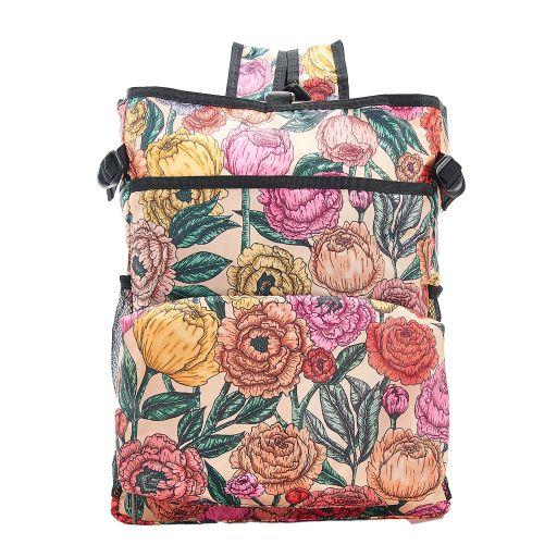 Eco Chic - Backpack Cooler (rugzak koeltas) - J03BG - Beige Peonies