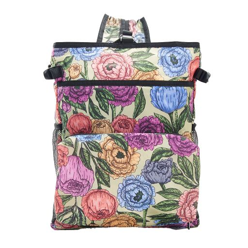 Eco Chic - Backpack Cooler (rugzak koeltas) - J03GN - Green Peonies