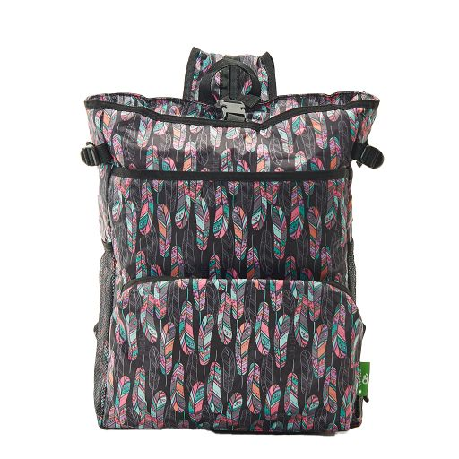 Eco Chic - Backpack Cooler (rugzak koeltas) - J08BK - Black Feather