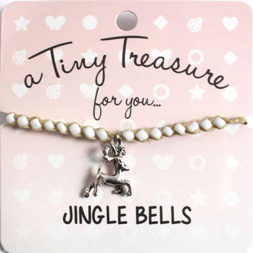 Tiny Treasure armband - Jingle Bells