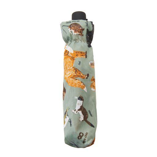 Eco Chic - Mini Umbrella (opvouwbare paraplu) - K01OE - Olive Woodland