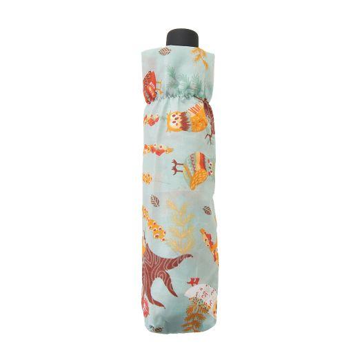 Eco Chic - Mini Umbrella (opvouwbare paraplu) - K02BU - Blue Owl