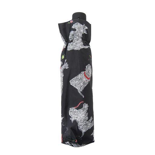 Eco Chic - Mini Umbrella (opvouwbare paraplu) - K03BK - Black Scatty Scotty