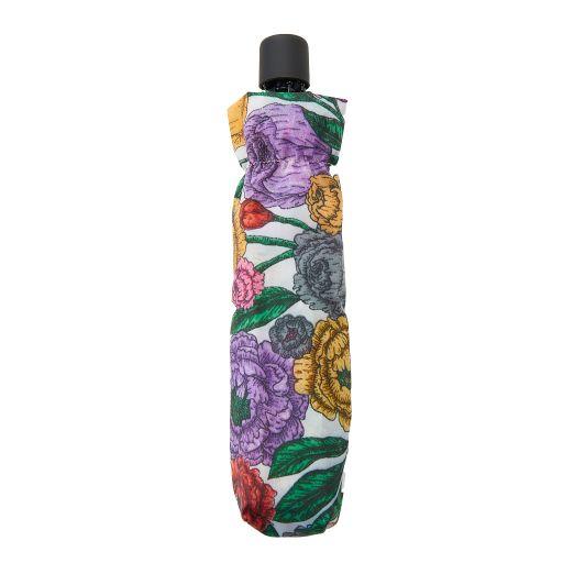 Eco Chic - Mini Umbrella (opvouwbare paraplu) - K04BG - Beige Peonies