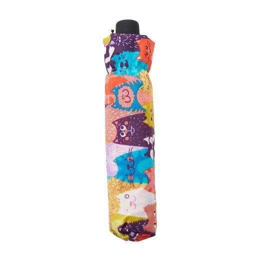 Eco Chic - Mini Umbrella (opvouwbare paraplu) - K06ME - Multiple Stacking Cat