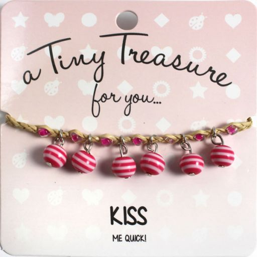 Tiny Treasure armband - Kiss