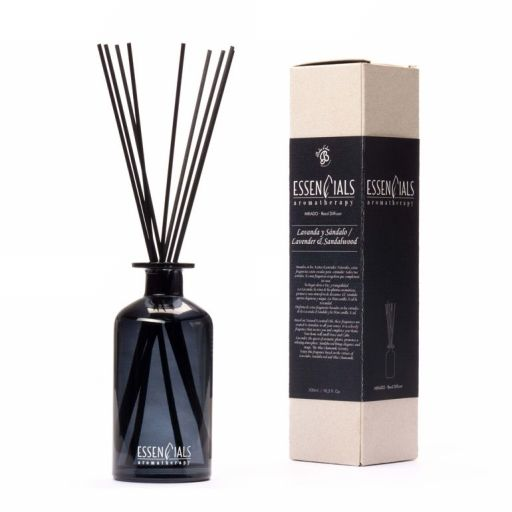 Boles d'olor Essencials Geurstokjes 300 ml - Lavanda y Sandolo - Lavendel en Sandelwood