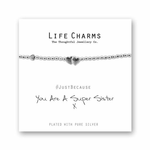 480206 - Life Charms - LC006BW - Just because - Sister