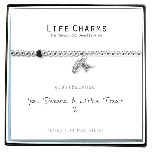 480216 - Life Charms - LC016BW - Just because - A little Treat