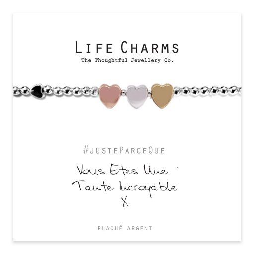 Life Charms FR - LC018BWF - Just because - Vous Êtes Une Tante Incroyable