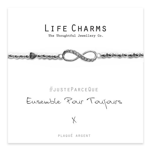 Life Charms FR - LC027BWF - Just because - Ensemble Pour Toujours