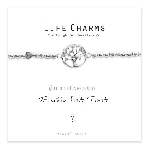 Life Charms FR - LC037BWF - Just because - Famille Est Tout