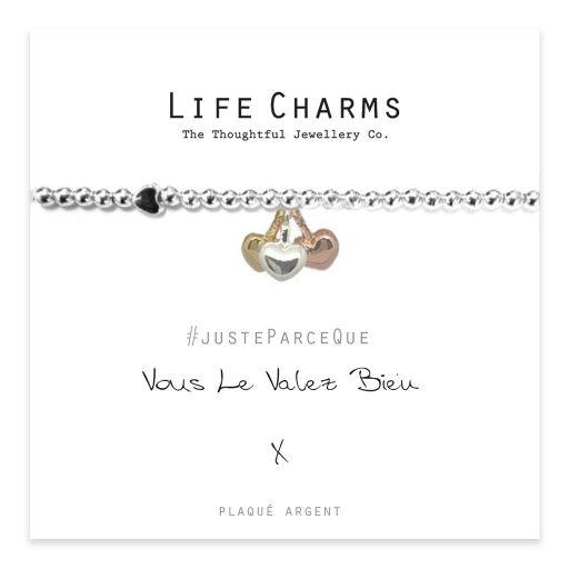 Life Charms FR - LC039BWF - Just because - Vous le valez bien