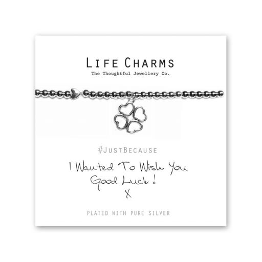 480246- Life Charms - LC046BW - Just because - Good Luck