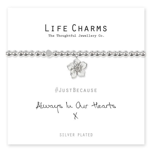4817305 Life Charms - LC105BW - Just because - Always in our Hearts