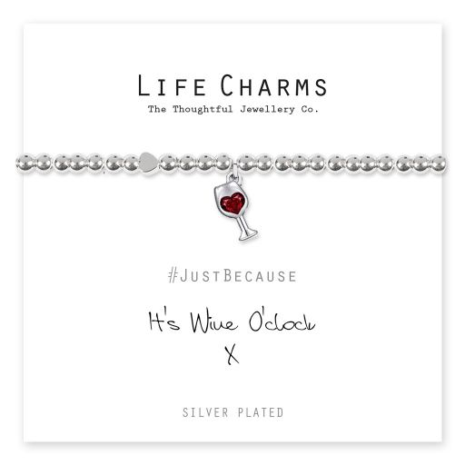 4817311 Life Charms - LC111BW - Just because - Wine O'clock