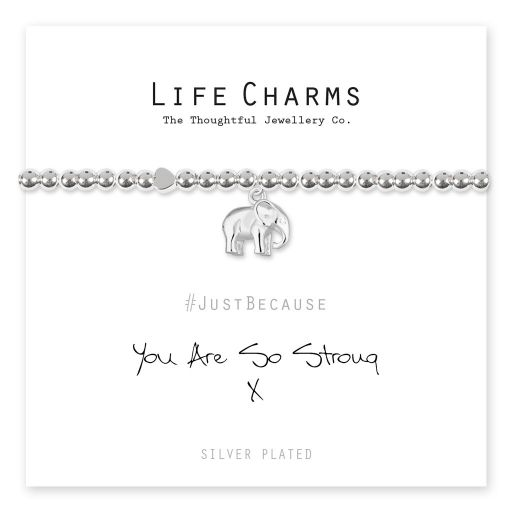 4817316 Life Charms - LC116BW - Just because - You Are So Strong