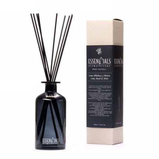 Boles d'olor Essencials Geurstokjes 300 ml - Lima, Albahaca y Menta - Limoen, Basilicum en Munt