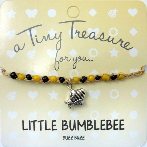 Tiny Trease armband - Little Bumblebee