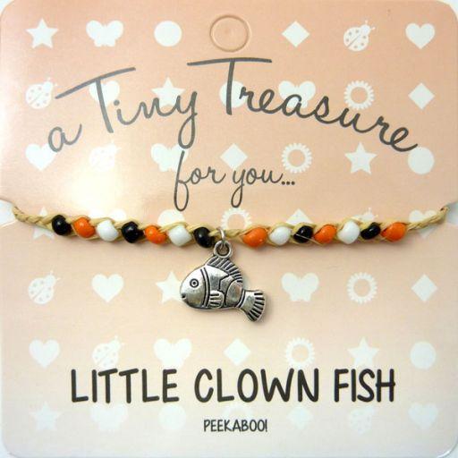 Tiny Trease armband - Little Clown Fish