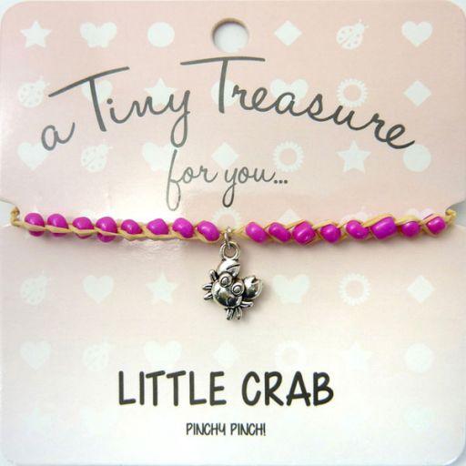 Tiny Trease armband - Little crab