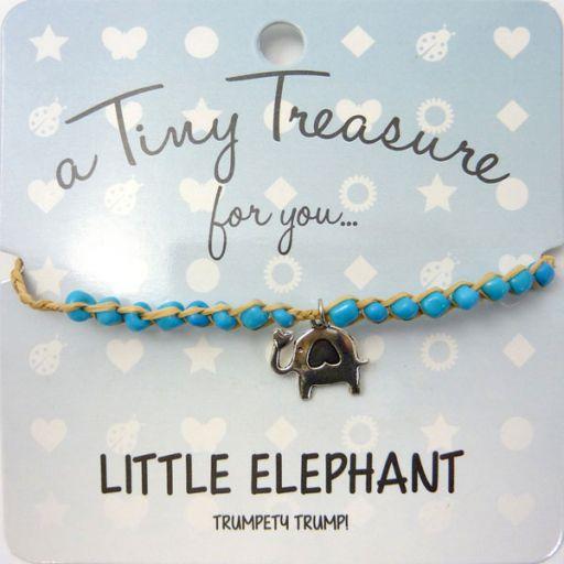 Tiny Trease armband - Little Elephant