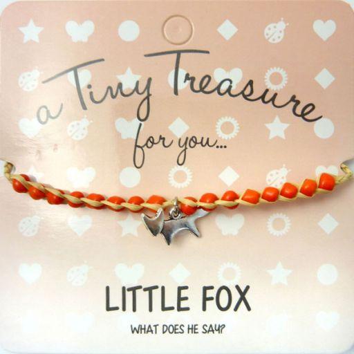 Tiny Trease armband - Little Fox