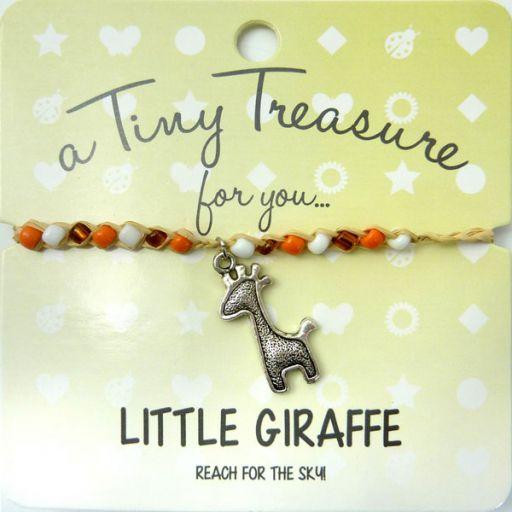 Tiny Trease armband - Little Giraffe
