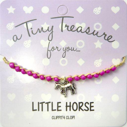 Tiny Trease armband - Little Horse