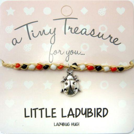 Tiny Trease armband - Little Ladybird