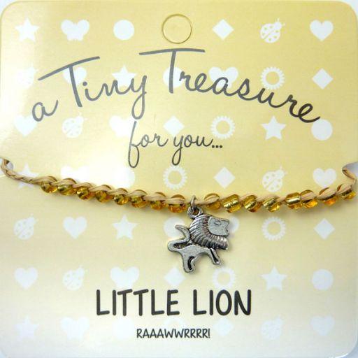 Tiny Trease armband - Little Lion