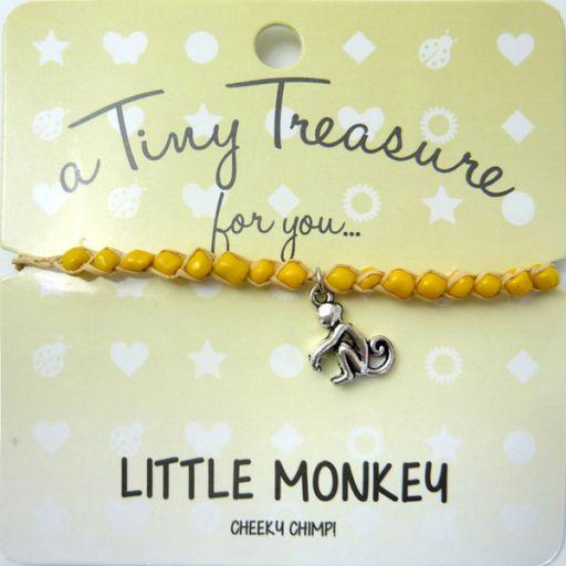 Tiny Trease armband - Little Monkey