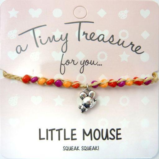 Tiny Trease armband - Little Mouse
