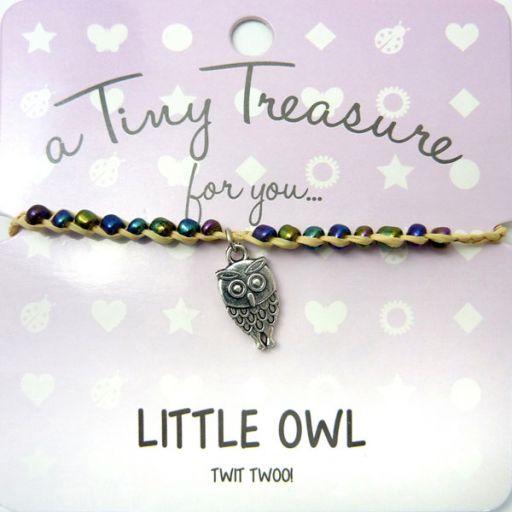 Tiny Trease armband - Little Owl