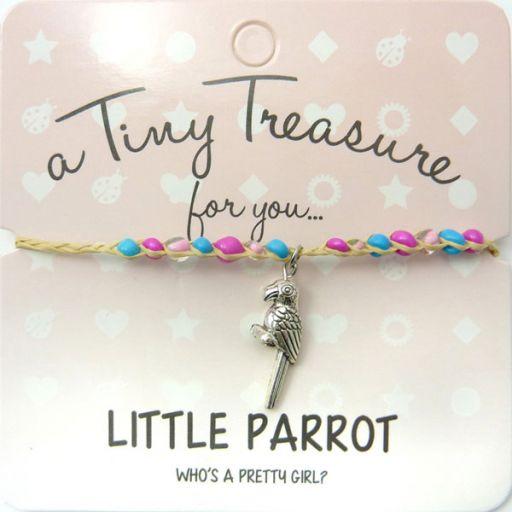 Tiny Trease armband - Little Parrot