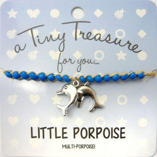 Tiny Trease armband - Little Porpoise