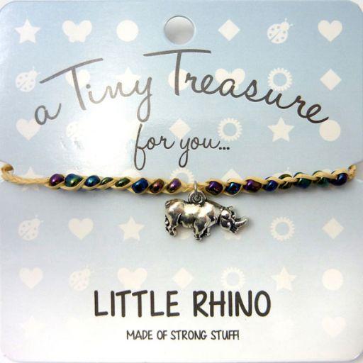 Tiny Trease armband - Little Rhino