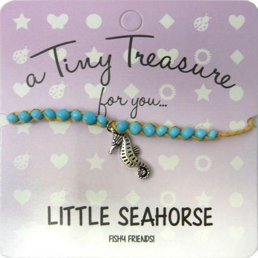 Tiny Trease armband - Little Seahorse