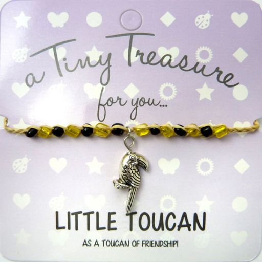 Tiny Trease armband - Little Toucan