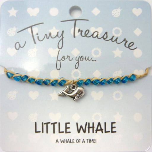 Tiny Trease armband - Little Whale